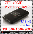 unlock zte mf93 Vodafone R212 lte 4g router 100Mbps 4g mifi router 4g wifi dongle mifi modem pk mf90c mf96 e5372 mf90 mf91 mf910