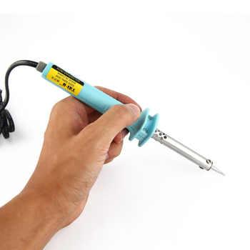 30W/60W Electronic Welding Soldering Iron Tool Electric Pen Solder Tin Wire Pliers Welding Mini Smart Professional Hobby EU