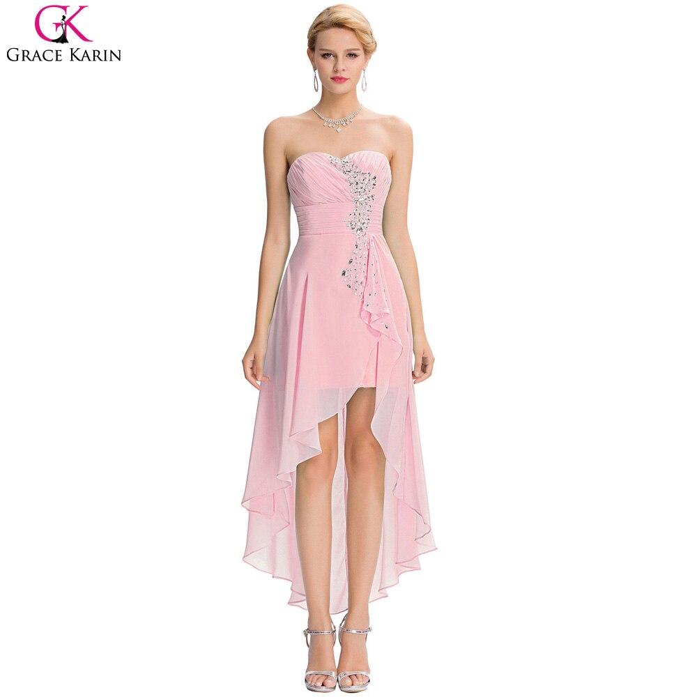 Promoción de Turquesa Y Rosa Vestidos De Dama De Honor - Compra ...