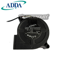 Free Shipping For ADDA AB06012MX250300 50mm 60x60x25mm Server Blower Fan OX2V5 DC 12V 0 18A 3