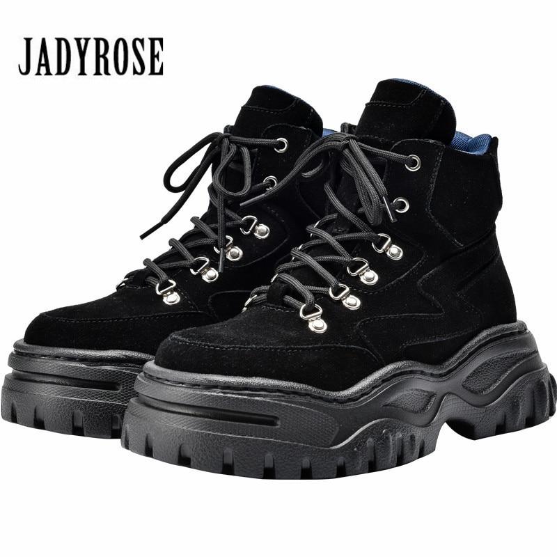 398d1eda Jady/розовые, черные замшевые зимние ботинки на меху, женские ботильоны,  женские ботинки для верховой езды на платформе со шнуровкой, женская .
