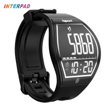 2017 World Premiere Interpad Curved Touch Screen Smart Watch Sport Smart Health Fitness Tracker Wireless Charging Smartwatch