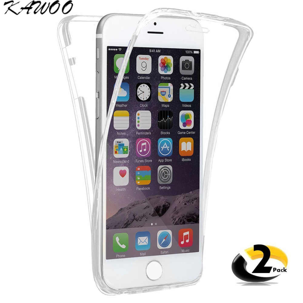 360 Degree Soft TPU Silicon Iphone 8