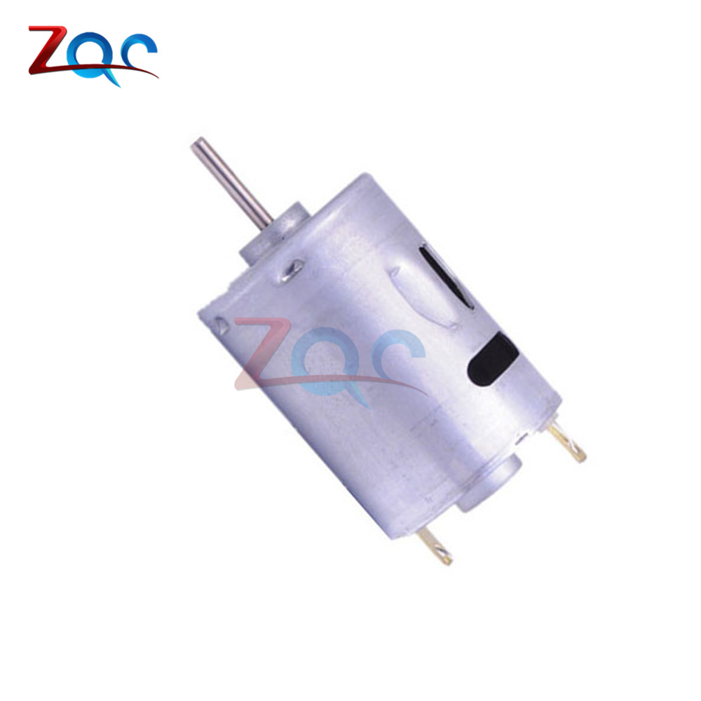 DC 12V Hobby Type 380 Motor Micro Motor Toy Motor High speed