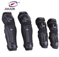 JIAJUN Motorcycle MTB BMX DH Bike Skating Skateboard Elbow Pads + Knee Pads Set Guard Extreme Sport Protective Gear Protector