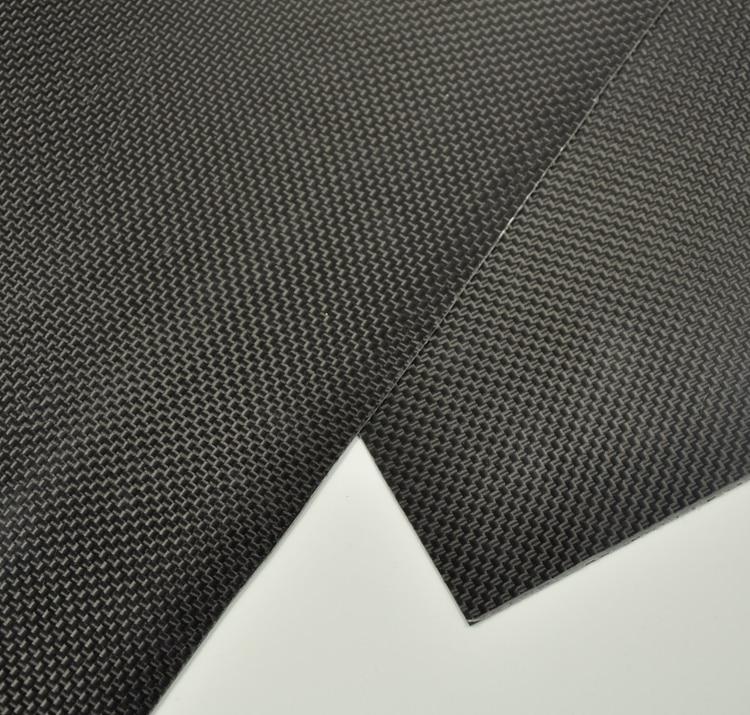 300x250x0.3mm Carbon Fiber Plate Panel Sheet 3K Plain Weave High Glossy Surface tator rc 3k carbon fiber plate 3 5mm tl2900