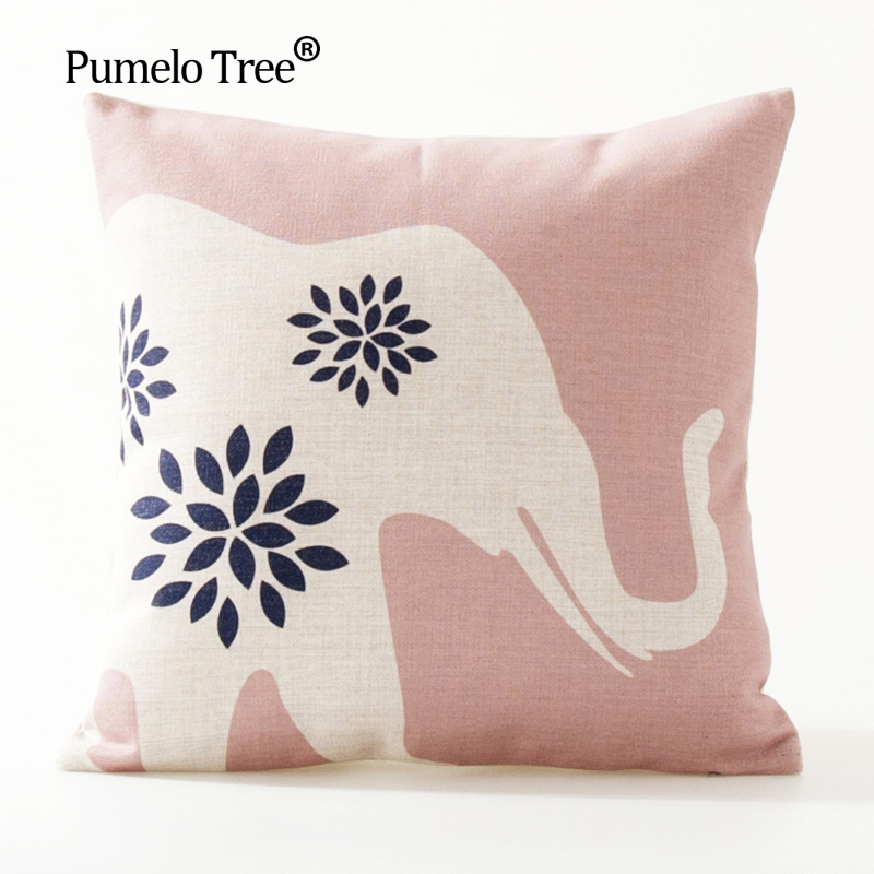 Nordic Design Cushion Cover Pink Blue Geometric Throw Pillowcase 45cmX45cm Color Decoration Home Office Car Bed Seat Pillow Case 3
