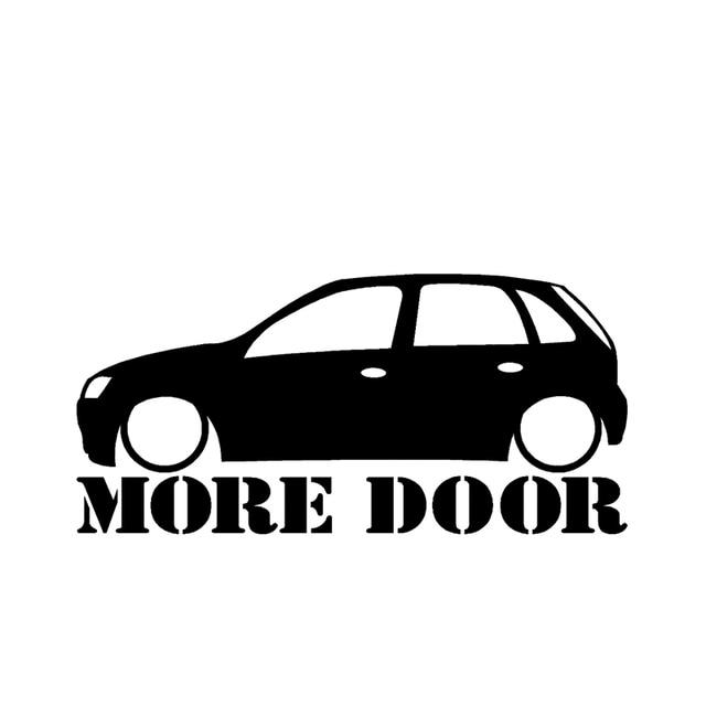 HotMeiNi Vauxhall Corsa C More Door Sticker. For Corsa C 5 Door Oem Cartoon The  sc 1 st  AliExpress.com & HotMeiNi Vauxhall Corsa C More Door Sticker. For Corsa C 5 Door ...