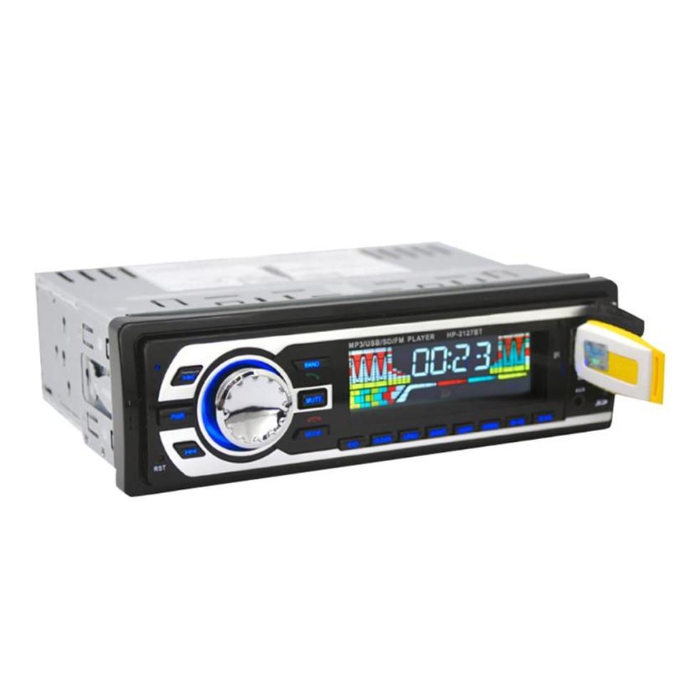 100% new Car In Dash Bluetooth Stereo Audio USB SD FM Aux Input Receiver MP3 Radio Player Car Styling USB/SD/MP3/WMA/WAV player