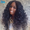 Brazilian Virgin Hair Loose Wave With Closure Brazilian Loose Wave 3 Bundles With Closure Brazilian Hair Extensions With Closure