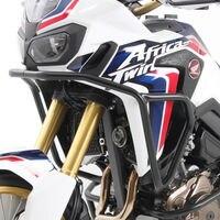 Матовый черный мотоцикл Сталь верх двигателя гвардии Крушение Бар протектор ползунки рамка для Honda CRF 1000 L Африка Twin 2016 2017