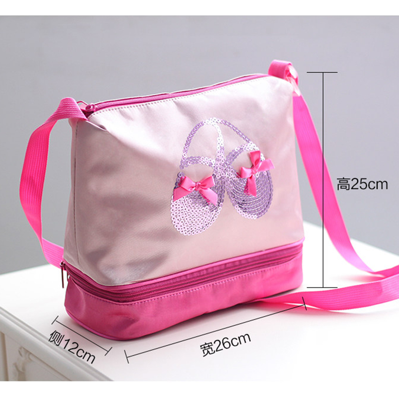07b4275b1 various styles 26d9f fa31f childrens satin ballet waterproof double ...