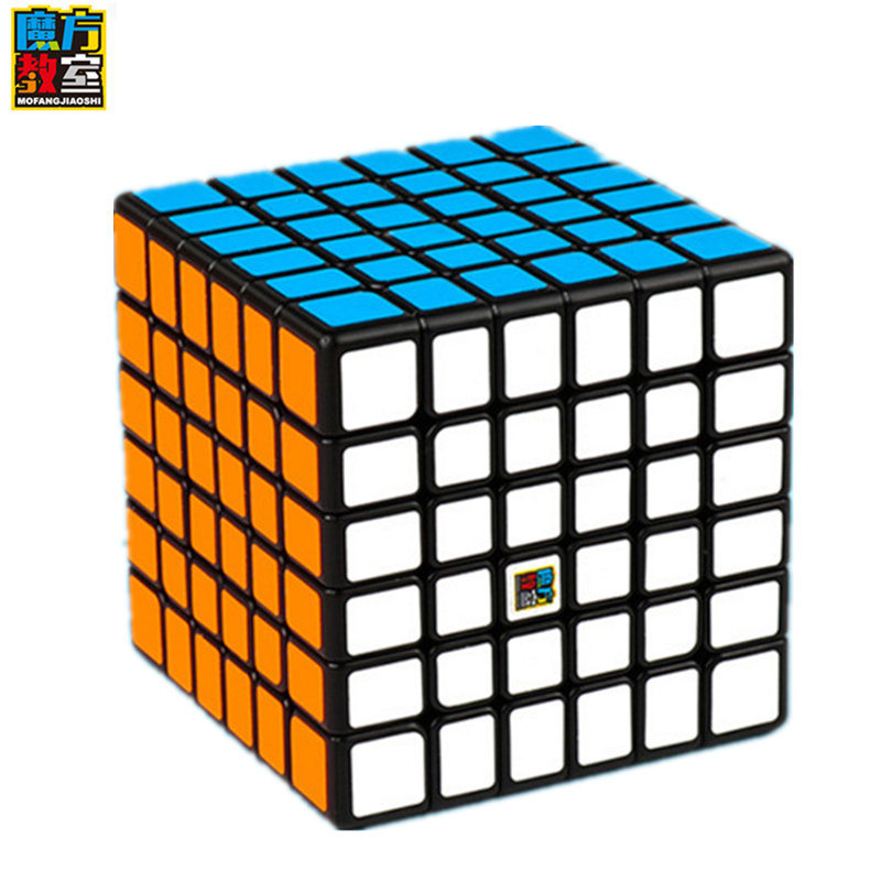 Moyu 6x6x6 cubo de competição profissional mf6 cubo jogo profissional seis-order cubo 6 por 6 para crianças brinquedo de quebra-cabeça cubo