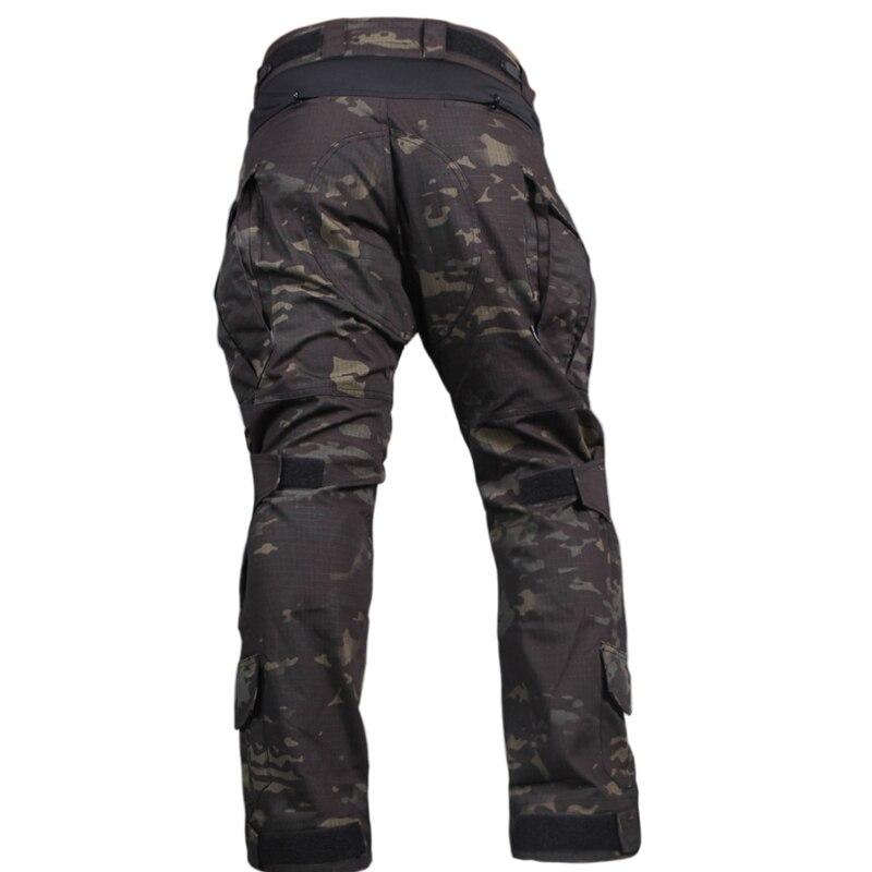 Emerson G3 Combat Pants Tactical Trousers Wargame Airsoft MultiCam Black EM7043
