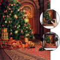 Free Shipping 1.5*2.1m 5*7FT Christmas Theme Photography Background Cloth Screen For Studio Camera Indoor Photography New