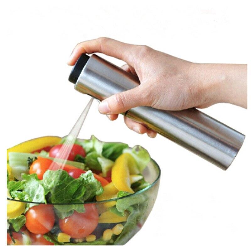 Кухня Инструменты Нержавеющаясталь оливковое насос распыления масла бутылки опрыскиватель может Нефть jar горшок инструмент может горшок Кухонная посуда Фраско де oleo p20