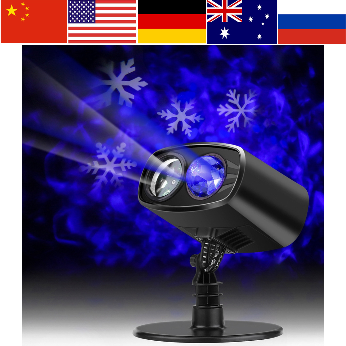 LED Light Projector LED Night Light Projector Luminaria Waterproof Outdoor Indoor Party Light