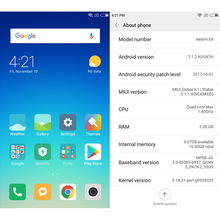 Original Xiaomi Redmi 5A 5 A 16GB ROM 2GB RAM Snapdragon S425 Quad Core Mobile Phone MIUI9 13.0 MP + 5.0MP 3000mAh 5.0″ 1280*720