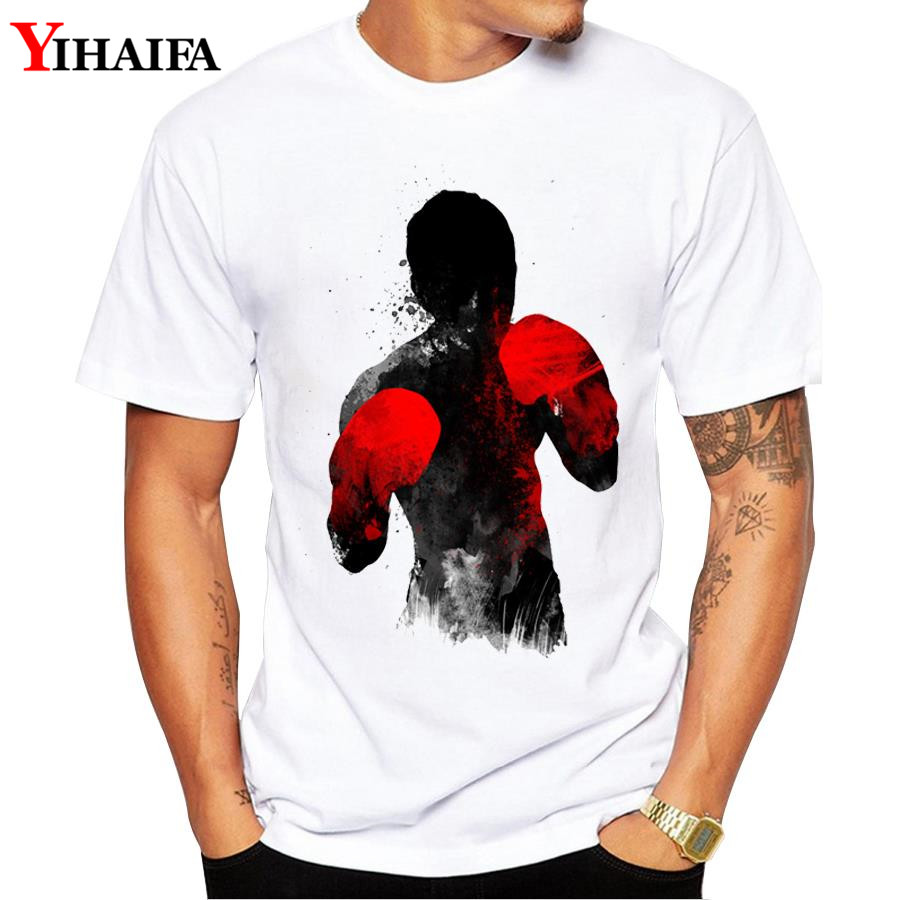 Fashion Men T Shirt Creative 3D Print Graphic Tee Short Sleeve T Shirts Sports Slim Fit White Tops in T Shirts from Men 39 s Clothing