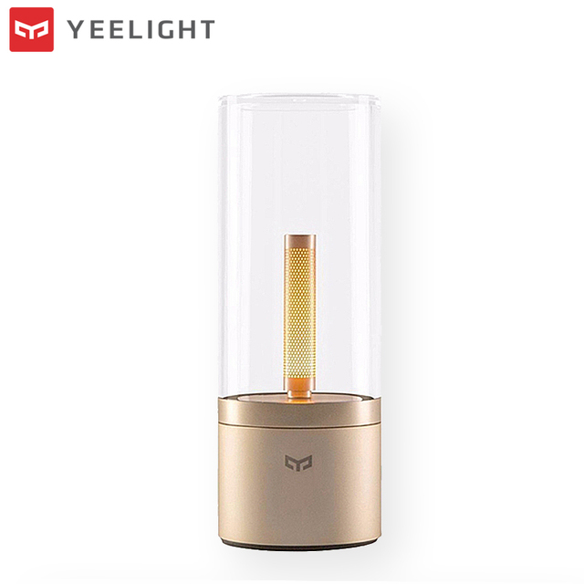 Original XIAOMI YEELIGHT 6.5W LED Night Light Smart Bluetooth Control Rechargeable Dimmable Table Lamp Mijia Candle Light