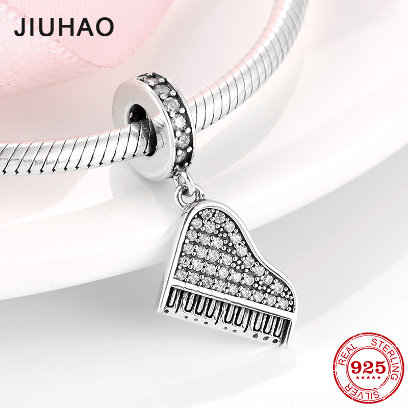 AUTHENTIC STERLING SILVER REFLECTIONS PIANO EUROPEAN BEAD