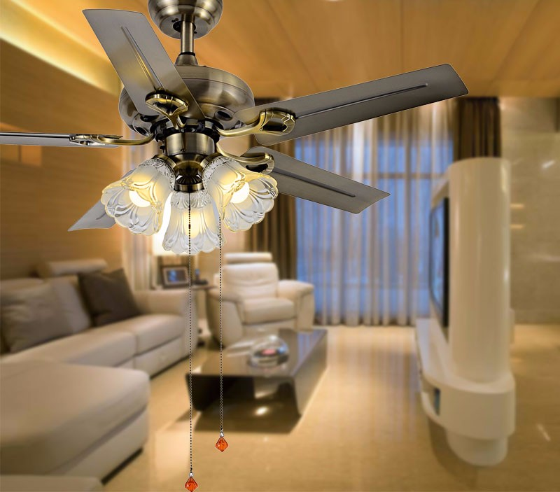 Iron Brown Blades Super Cool Ceiling Fan Light 4201 Blz Indoor With Kit Joke Belt Driven Kits
