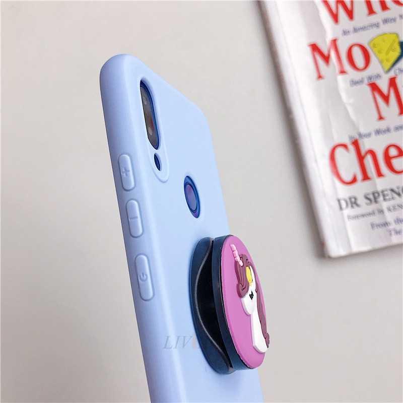3D سيليكون الكرتون حامل هاتف حقيبة لهاتف أي فون x xr xs ماكس 6 7 8 زائد 6s 5s se لطيف حامل الغطاء الخلفي كوكه fundas
