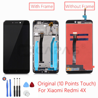 For Xiaomi Redmi 4X LCD Display With Frame Screen Touch Panel Redmi 4X LCD Display Digitizer