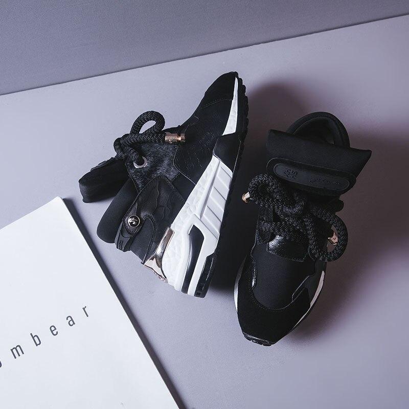 Femmes Luxe 6 Multi D'été Sneakers Cm En 2019 Cuir