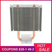 PCCOOLER cpu Cooler HB-802 2 тепловые трубы радиатор алюминиевая материнская плата радиатора/Northbridge кулер охлаждения поддержка 80 мм cpu вентилятор
