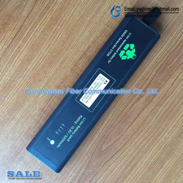 Agilent E6000 OTDR reflectômetro domínio de tempo Ótico-E6000A E6000B E6000C Bateria
