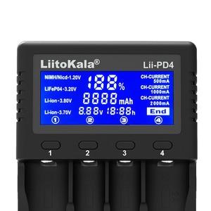 Image 3 - Liitokala Lii PD4 18650 Charger, Charging 18650 1.2V 3.7V 3.2V 3.85V AA / AAA 26650 16340 25500 NiMH Lithium Battery Charger