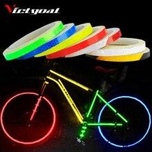 Наклейка для велосипеда victgoal, s наклейки, Светоотражающая наклейка, s полоска, велосипедная светоотражающая лента, наклейка, велосипедное колесо, Аксессуары для велосипеда