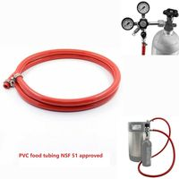 PVC Food Gas Line Hose Tubing 5/16 Inch ID & 9/16 Inch OD for Draft Beer Brewing 5ft 1.5m