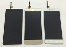 LCD screen display+touch panel digitizer For Xiaomi Redmi 3 Hongmi 3 Redmi 3 Pro redmi 3S black /white /gold free shipping
