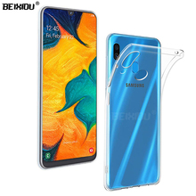 Case For Samsung Galaxy A20 TPU Silicon Durable Clear Transparent Soft Case for Samsung Galaxy A20 protective Back Cover s style anti slip protective tpu back case for samsung galaxy young s6310 black
