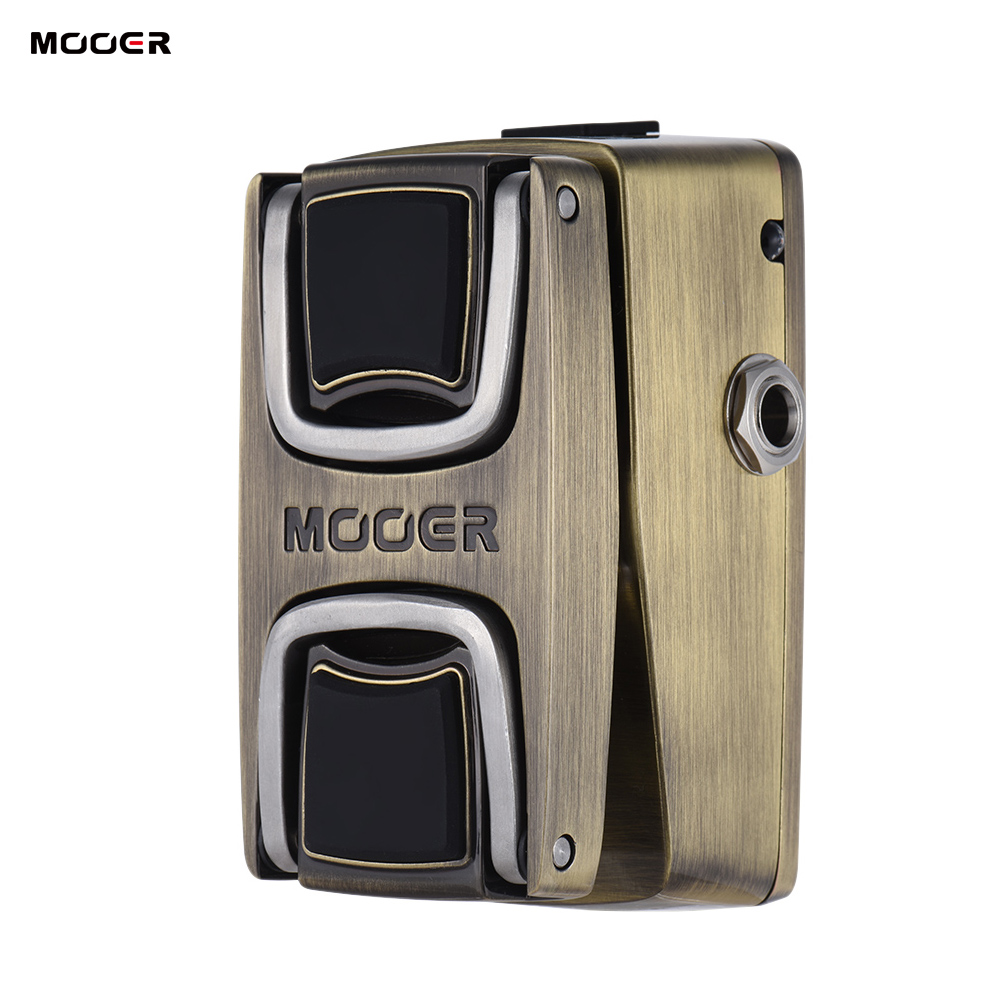 MOOER The Wahter Guitar Pedal Electric Wah Guitar Effect Pedal Pressure Sensing Switch Full Metal Shell
