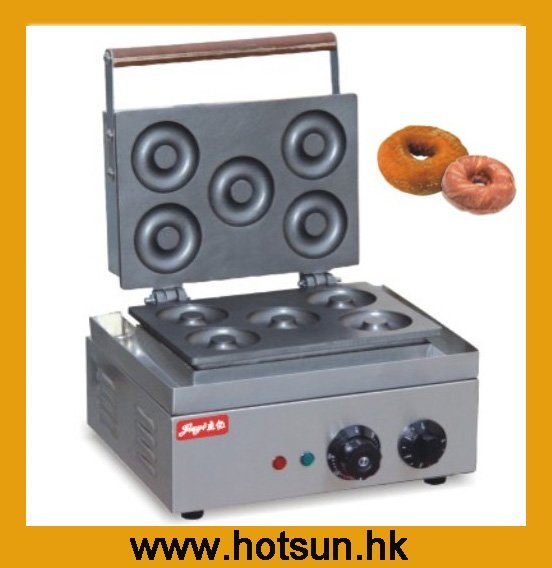 Commercial Stainless Steel 110V 220V Electric Donut Iron Maker Machine цена