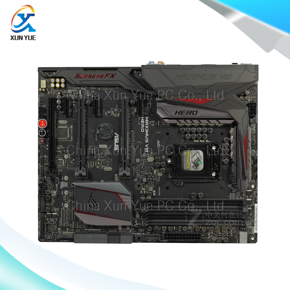 For MAXIMUS VIII HERO Original Used Desktop Motherboard M8H For Intel Z170 Socket LGA 1151 For i7 i5 i3 DDR4 64G SATA3 ATX пассатижи vde 205мм haupa 210058