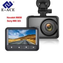 hot deal buy e-ace new mini car dvr dash camera full hd 1080p novatek 96658 imx 323 dash cam video recorder night vision dvrs auto registrar