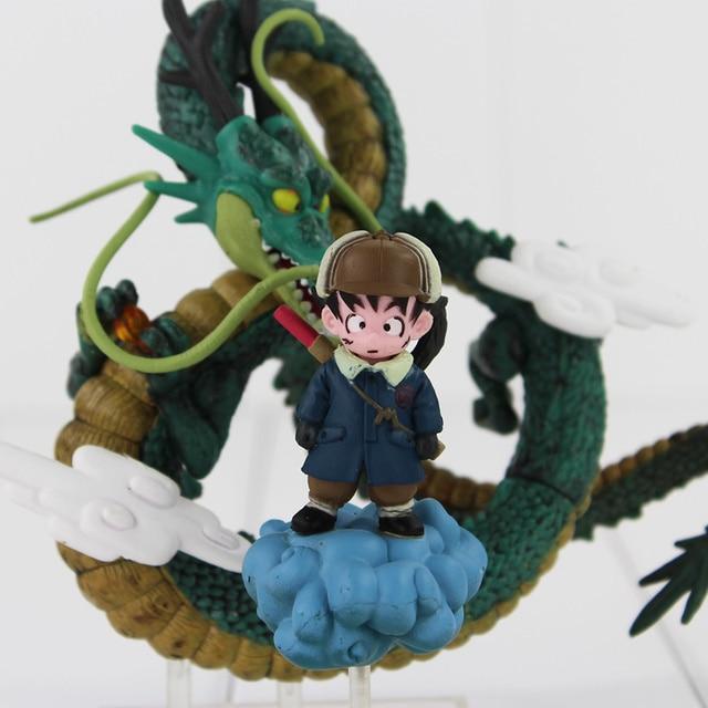 Dragon Ball Z Goku Shenron Son Goku PVC Collection Model Toys Kids Action Figure Gifts 11cm