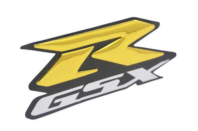 2pcs 3D GSXR 1000 600 750 Motorcycle Sticker Decal Emblem Raised Reflective Fairing Stickers Moto Vinyl Bling for GSXR 1100 1300