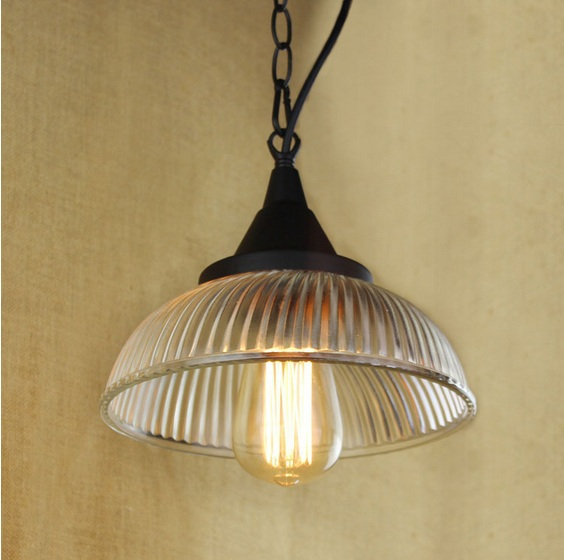 Loft Style Edison Vintage American Industrial Pendant Lights Lamp For Dinning Room,Clear Glass Lampshade,E27*1 Blub Included AC retro loft style industrial vintage pendant lights hanging lamps edison pendant lamp for dinning room bar cafe