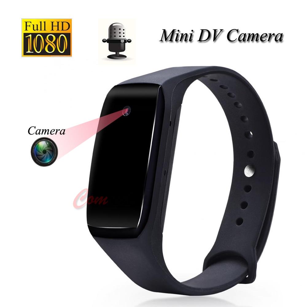 Fulll HD 1080P Smart Bracelet Camera Mini Camera Wristband  Wearable Device Bracelet Camera