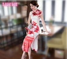 Traditionelle Chinesische Cheongsams 2016 Neuen hochwertigen Lange Qipao Vintage Elegante Sexy Hochzeit Cheongsam Chinesische Abendkleid