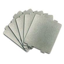 Behogar 5 stücke Mikrowelle Glimmer Platte Blatt Papier Reparatur Zubehör Ersatz Teile für Midea 9,9x10,8 cm