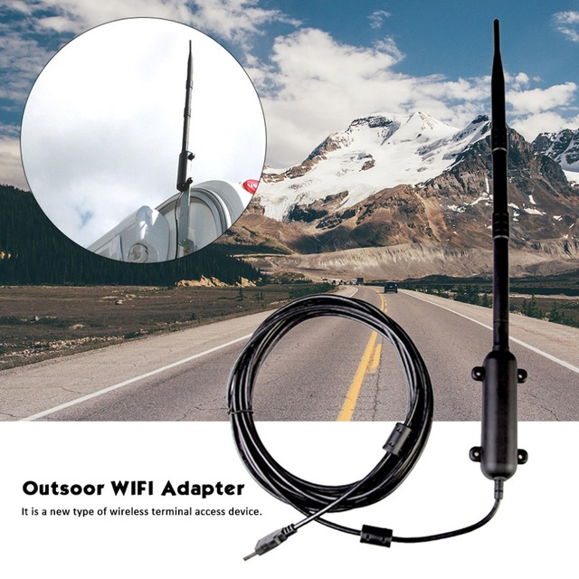 1000M High Power Outdoor WiFi Antenna USB Adapter Cellular Signal Amplifier  Omni directional Wireless Network Card Receiver