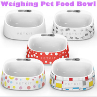 Fresh Smart Weighing Cat Dog Pet Bowl Antibacterial Dogs Kitten Puppy Pet Water Feeder Bowls Food Container FDA Certification