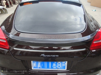 Carbon Fiber Trunk Spoiler Fit For Panamera 970 Rear Wing Of The PA Style