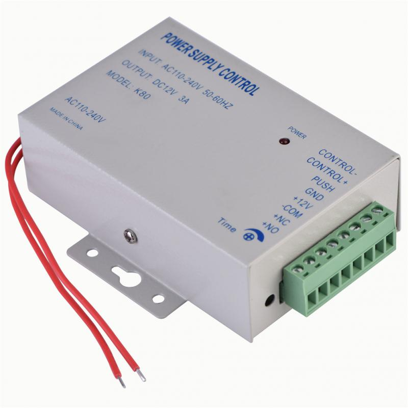 Input AC 110V 240V Output DC 12V 3A 30W Power Supply Controller for Door Access Control System Tools-in Switching Power Supply from Home Improvement